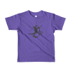 Pets In Tech Purple / 2yrs iPhone Skater Cat - Short sleeve kids t-shirt