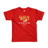 Pets In Tech Red / 2yrs 404 Cat Doesn't Respond - Short sleeve kids t-shirt