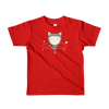 Pets In Tech Red / 2yrs App Ninja Cat - Short sleeve kids t-shirt