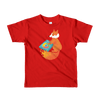 Pets In Tech Red / 2yrs Chrome DJ Firefox - Short sleeve kids t-shirt