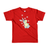 Pets In Tech Red / 2yrs Web Developer Rabbit - Short sleeve kids t-shirt
