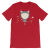 Pets In Tech Red / S App Ninja Cat - Short-Sleeve Unisex T-Shirt