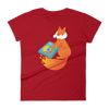 Pets In Tech Red / S Chrome DJ Firefox - Women's short sleeve t-shirt