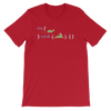 Pets In Tech Red / S Try Catch Turtle Rabbit - Short-Sleeve Unisex T-Shirt