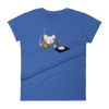 Pets In Tech Royal Blue / S Virtual Girlfriend Mouse - Women's short sleeve t-shirt