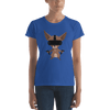 Pets In Tech Royal Blue / S Virtual Reality Chihuahua - Women's short sleeve t-shirt