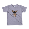 Pets In Tech Slate / 2yrs Virtual Reality Chihuahua - Short sleeve kids t-shirt