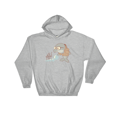Pets In Tech Sport Grey / S Bubble Sort Dolphin - Hoodie