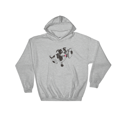 Pets In Tech Sport Grey / S Selfie Dog - Hoodie