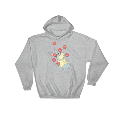 Pets In Tech Sport Grey / S Web Developer Rabbit - Hoodie