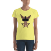 Pets In Tech Spring Yellow / S Virtual Reality Chihuahua - Women's short sleeve t-shirt