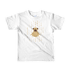Pets In Tech White / 2yrs 1s 0s Meditating Pug - Short sleeve kids t-shirt