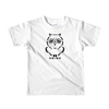 Pets In Tech White / 2yrs Ascii Owl - Short sleeve kids t-shirt