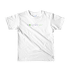 Pets In Tech White / 2yrs Awww on sight Cat - Short sleeve kids t-shirt