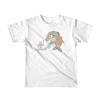 Pets In Tech White / 2yrs Bubble Sort Dolphin - Short sleeve kids t-shirt