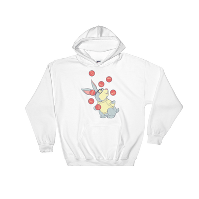Pets In Tech White / S Web Developer Rabbit - Hoodie