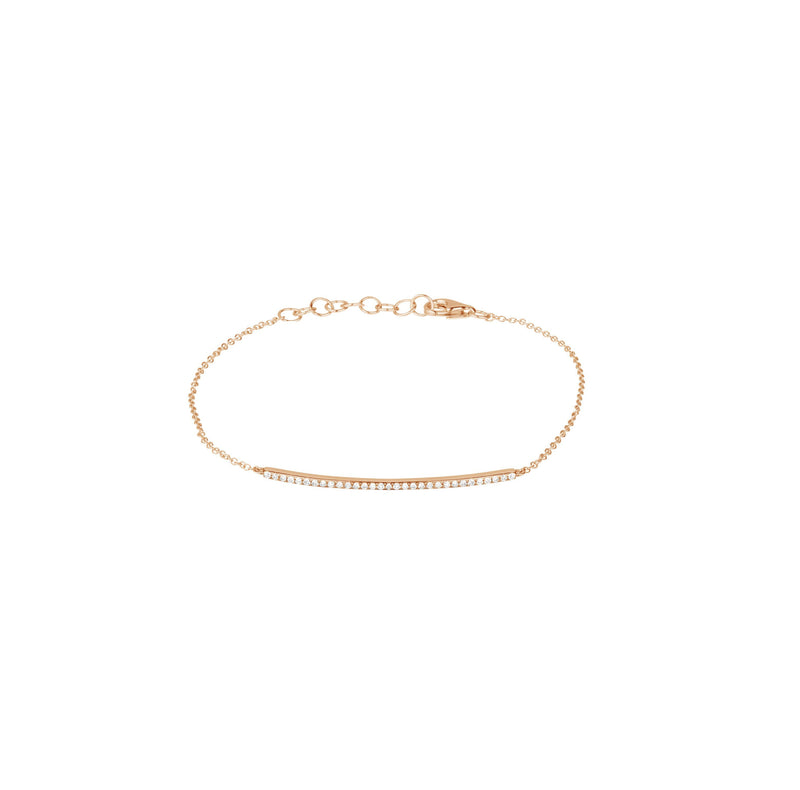 Bracelet - Diamond Bar Bracelet