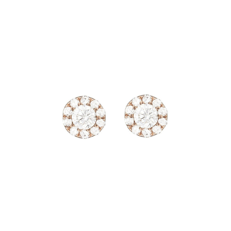 Earrings - Diamond Cluster Earrings