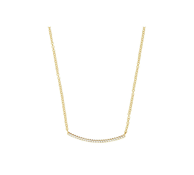 Pendant - Diamond Bar Pendant