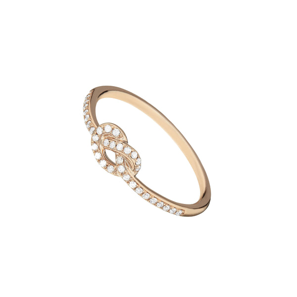 Ring - Diamond Knot Ring