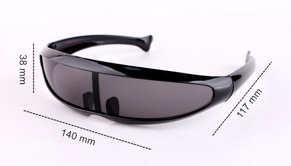 Travel Windproof Sun Glasses Robots Eyewear