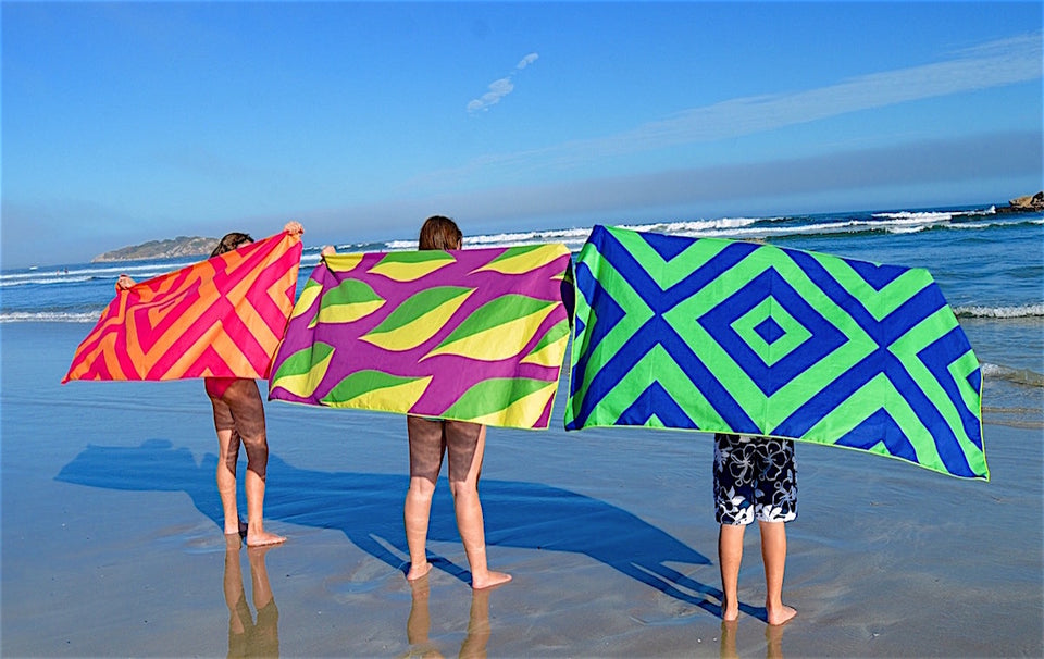 Clutch Towels microfiber beach towels absorbent quick dry