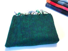 Blanket Wrap, Solid, Blue/Green