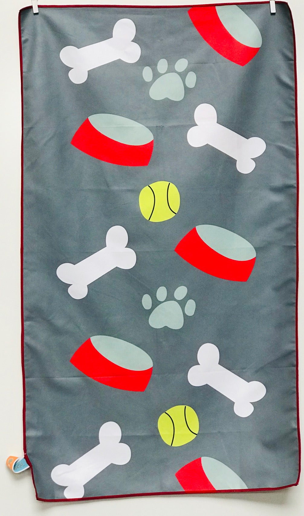 Dog Towel, Wipe Your Paws