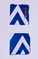 Clutch Towels Wristbands Navy/White (Set of 2, Size M) 1