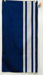 Sport Towel, Earn Your Stripes Navy/Gray