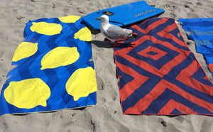 Beach Towel, Lemon Drop