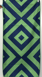 Beach Towel, Diamond Green/Navy