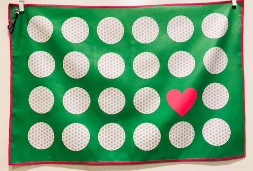 Golf Towel, Love Golf