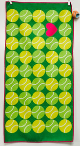 Tennis Towel, Having a Ball