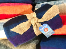 Blanket Wrap, Stripe Red/Orange