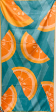 Beach Towel, Citrus, Tangerine Dream