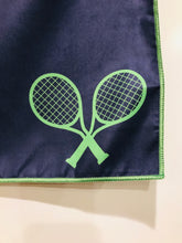 Tennis Towel, Corner Stripes