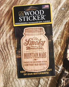 Ole Smoky Distillery Brings Their Moonshine to Life on Custom Wood Stickers-Gatlinburg, Tennessee