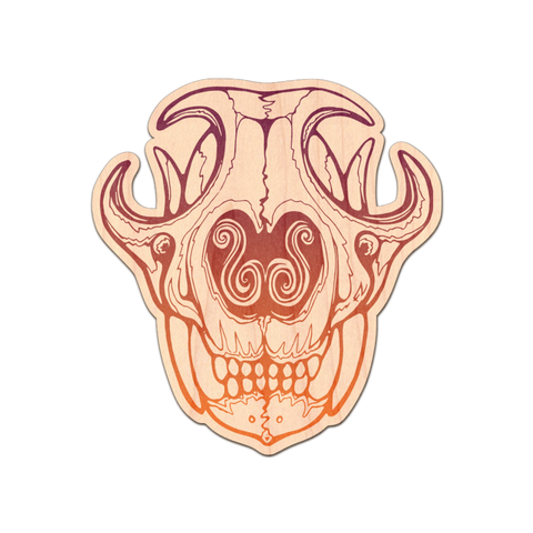 Customizable Cat Skull