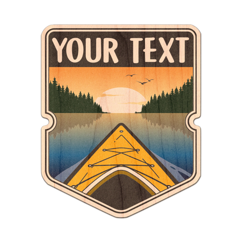 Customizable Kayak Badge