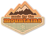 Made for the Mountains Badge