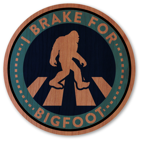Brake For Bigfoot
