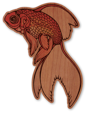 Color Intricate Goldfish