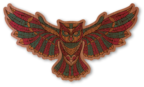 Color Intricate Owl