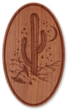 Cherry Wood Sticker