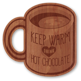 Keep Warm & Drink Hot Chocolate