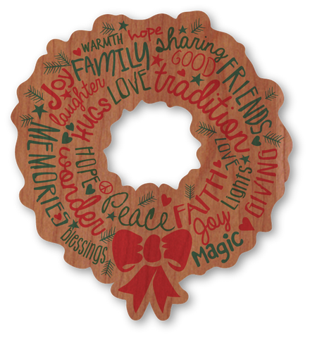 Wonderful Christmas Wreath