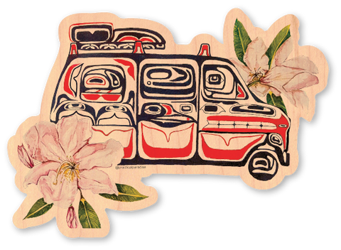 Native Flower Van