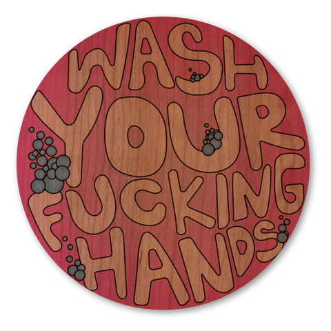 Pink Wash Your Hands