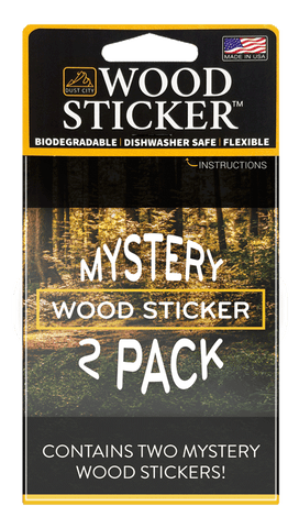 Wood Sticker Mystery 2-Pack
